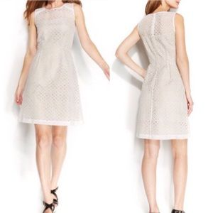Calvin Klein | Eyelet Lace Dress